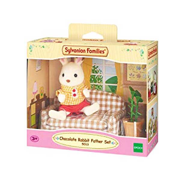 toko mainan online CHOCOLATE RABBIT FATHER SET - 5013