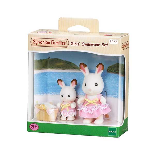 toko mainan online SYLVANIAN FAMILIES GIRLS SWIMWEAR SET - 5233