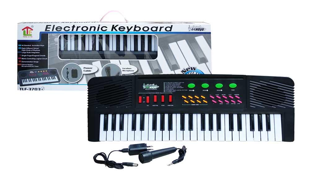 toko mainan online ELECTRONIC KEYBOARD 44 KEYS - TLF-3703