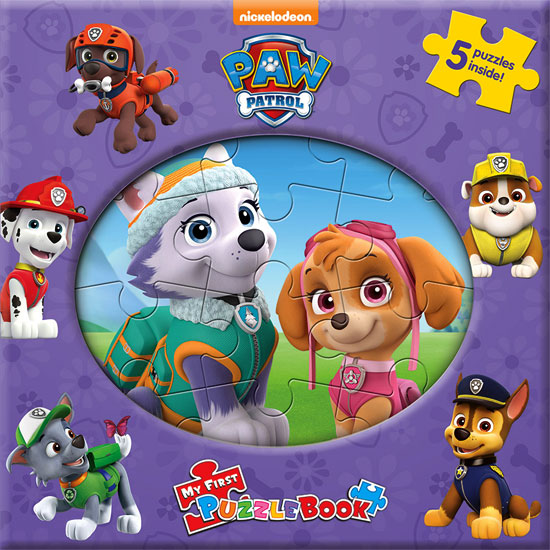 toko mainan online MY FIRST PUZZLE BOOK PAW PATROL UNGJU