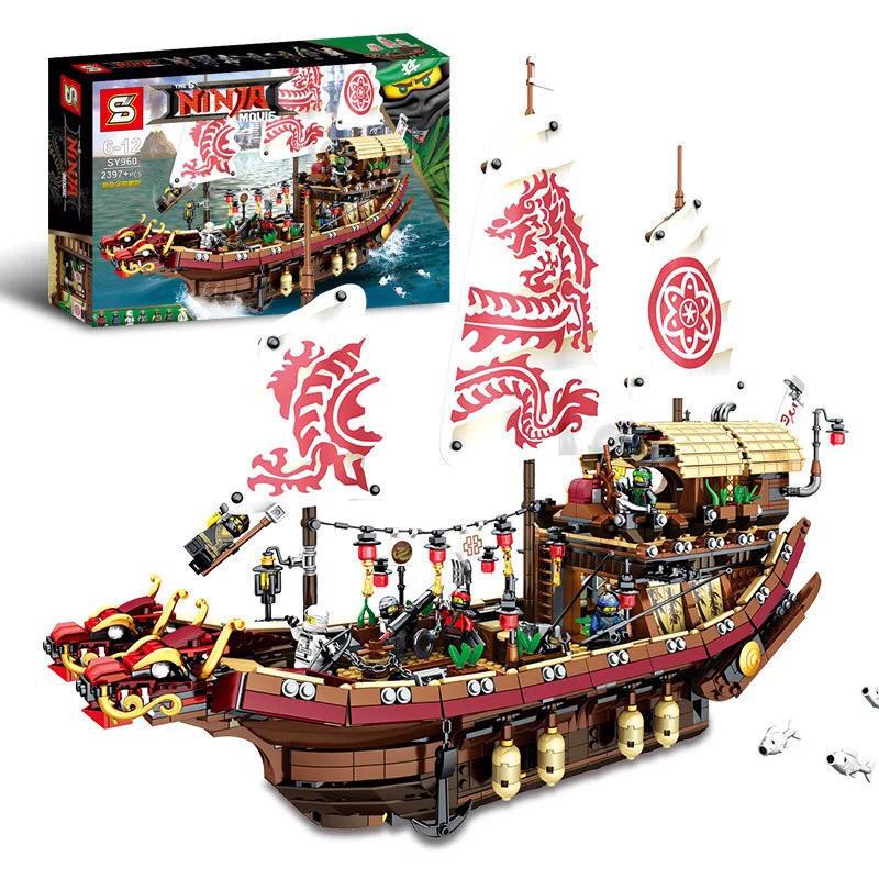 toko mainan online NINJA MOVIE 2397PCS - SY960