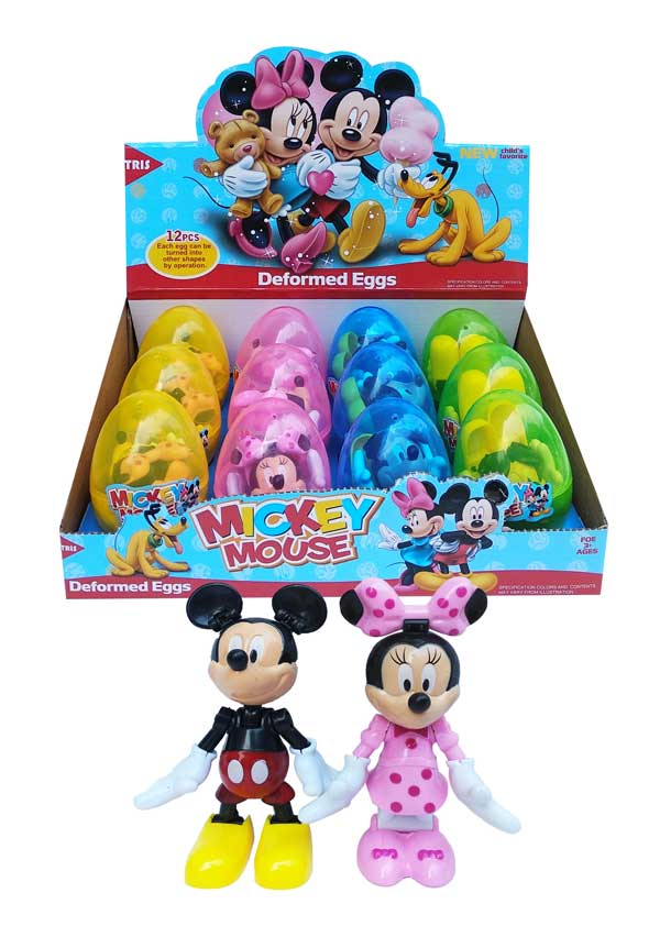 toko mainan online MICKEY&MINNIE MOUSE EGG - 6008C