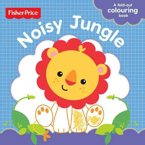 toko mainan online FP Noisy Animals Colouring Fold Out Book