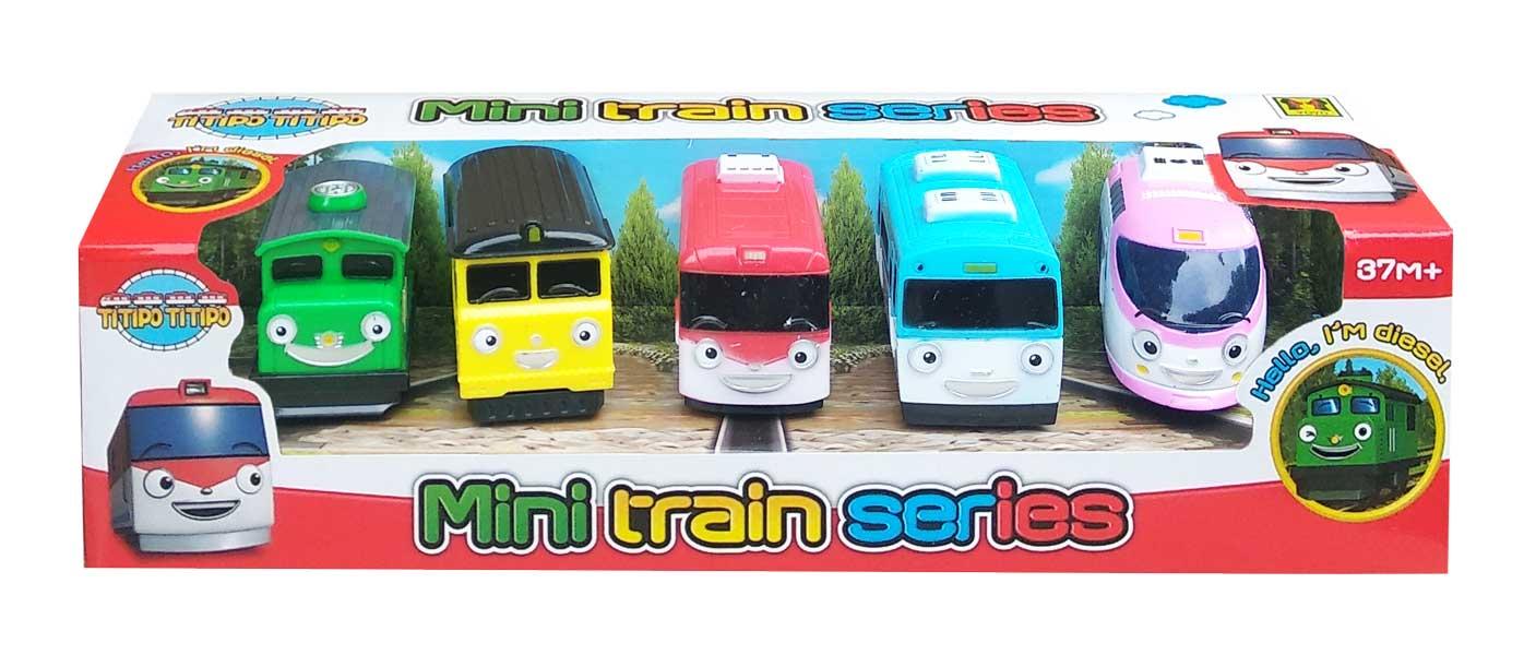 toko mainan online TAYO MINI TRAIN 5PCS - 024