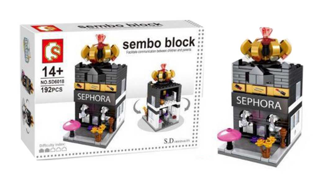 toko mainan online SEMBO SEPHORA 192PCS - SD6018