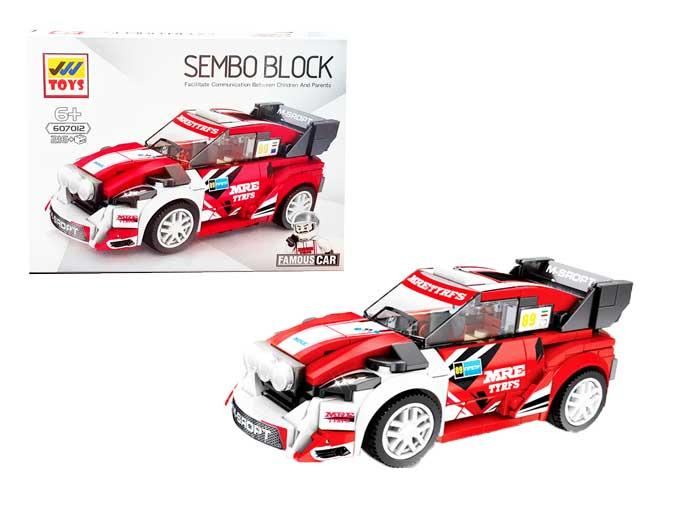 toko mainan online SEMBO CAR 216PCS - 607012