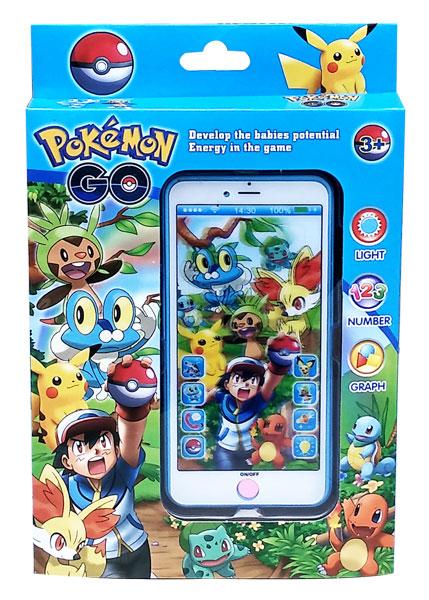toko mainan online POKEMON GO HANDPHONE + PROYECTOR - ZY-129