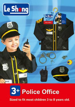 toko mainan online LESHENG POLICE OFFICER COSTUME - 0952-5