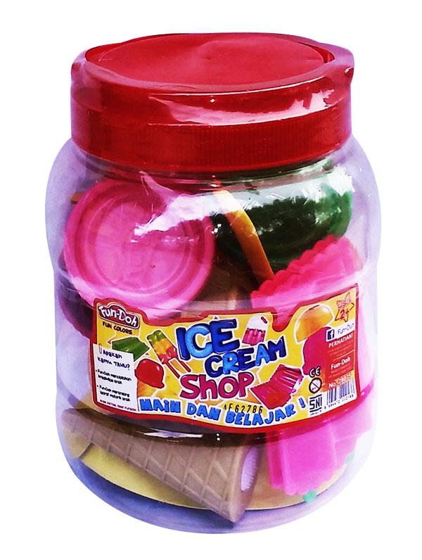 toko mainan online DOUGH ICE CREAM SHOP TOPLES