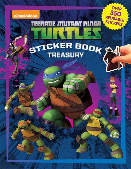 toko mainan online STICKER BOOK TREASURY TEENAGE MUTANT NINJA TURTLES