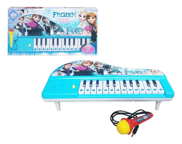 toko mainan online FROZEN PIANO 14 KEYS - 03905