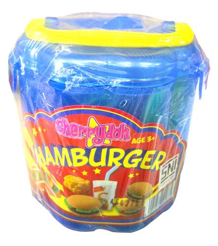 toko mainan online CHERRY DOUGH HAMBURGER