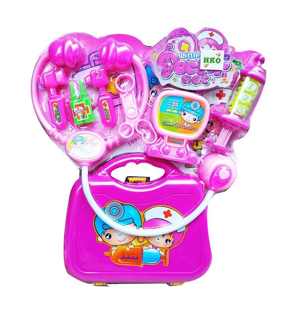 toko mainan online LITTLE DOCTOR SET PINK - 3A-812