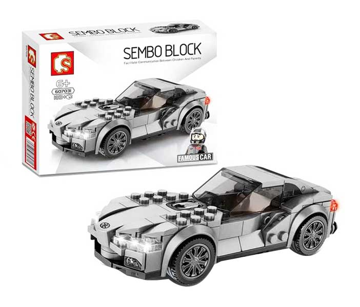 toko mainan online SEMBO CAR 183PCS - 607031