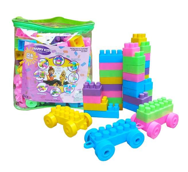 toko mainan online BUILDING BLOCK 126PC - HJ3836A