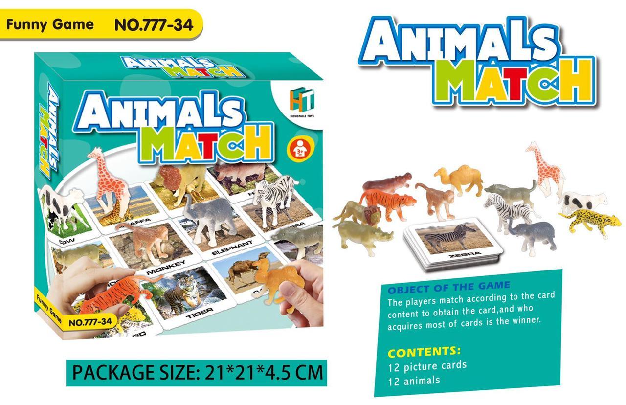toko mainan online ANIMAL MATCH - 777-34