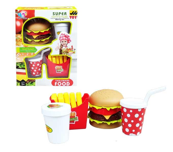 toko mainan online BURGER + KENTANG - 8806-1