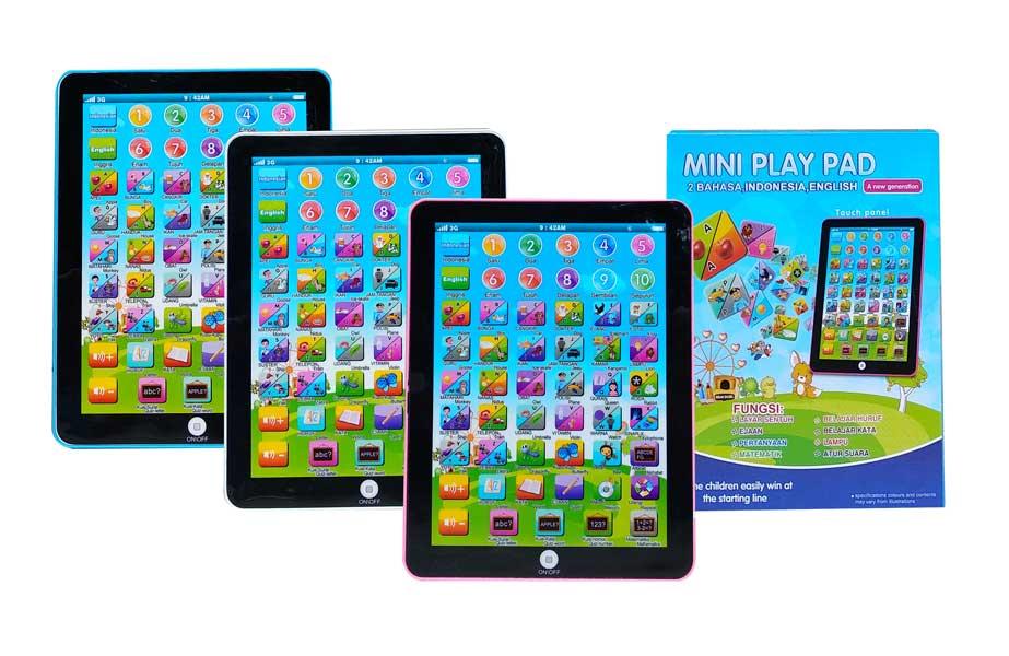 toko mainan online MINI PLAY PAD 2 BAHASA - 388-6
