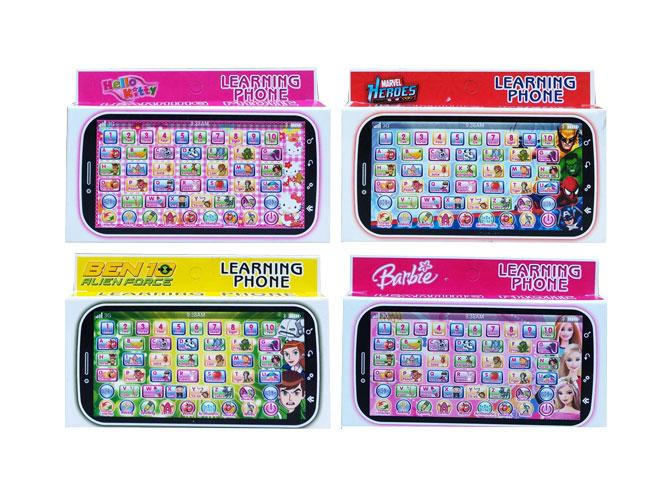 toko mainan online LEARNING PHONE KARAKTER - 5821