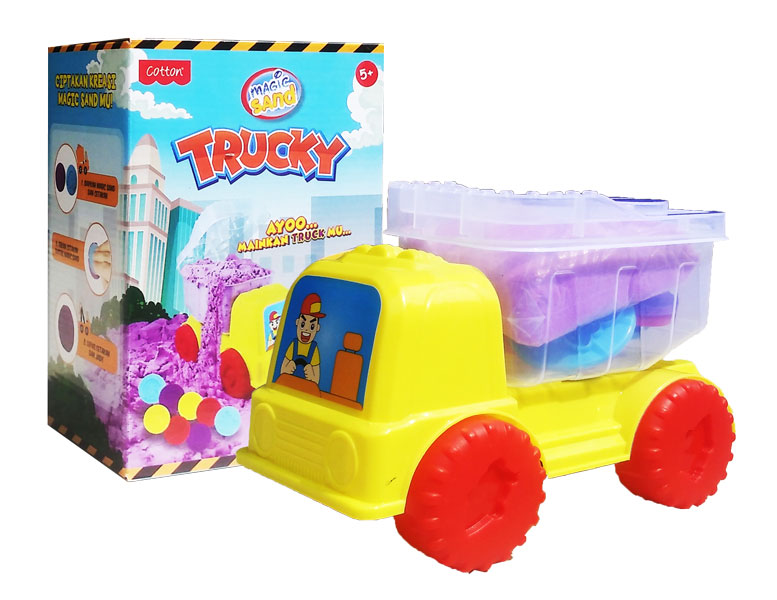 toko mainan online MAGIC SAND TRUCKY - 49011