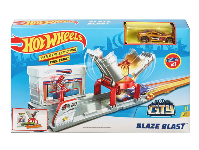 toko mainan online HOT WHEELS BLAZE BLAST - FJN36