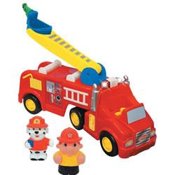 toko mainan online KIDDIELAND LIGHT AND SOUND FIRE TRUCK
