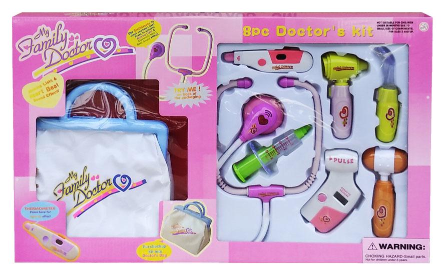toko mainan online TAS DOKTER DUS PINK - 9921 / 540E