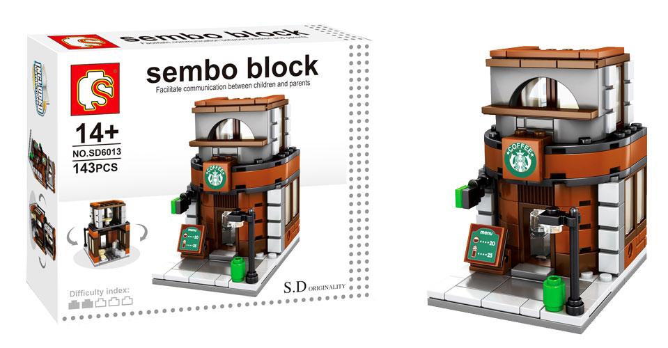 toko mainan online SEMBO STARBUCK 143PC - SD6013