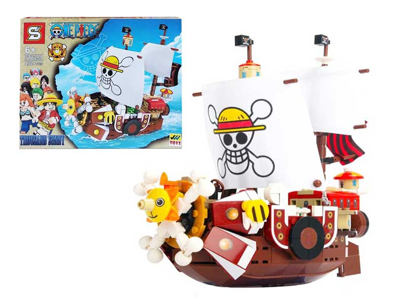 toko mainan online BLOCKS ONE PIECE THOUSAND SUNNY 432PCS - SY6299