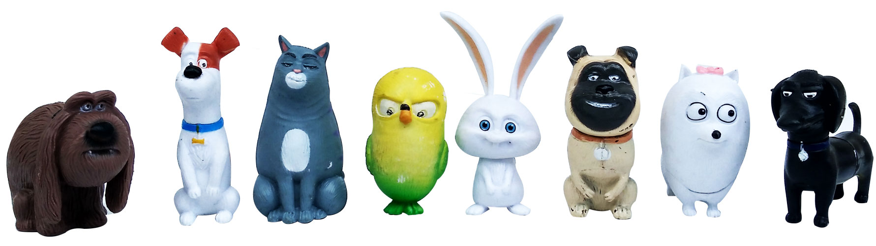 toko mainan online FIGURINE THE SECRET LIFE OF PETS ISI 8