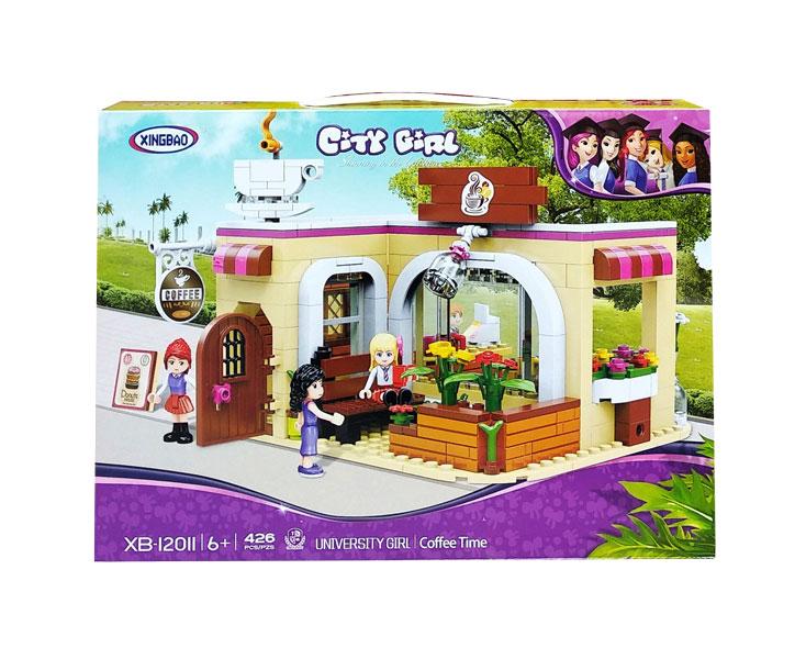 toko mainan online CITY GIRL 426PCS - XB-12011