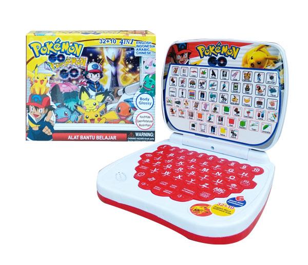 toko mainan online ALAT BANTU BELAJAR 4BHS POKEMON - 789-1