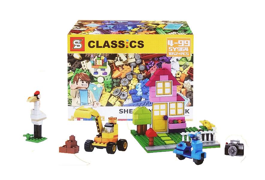 toko mainan online BLOCKS CLASSICS BESAR 1052PCS - SY964