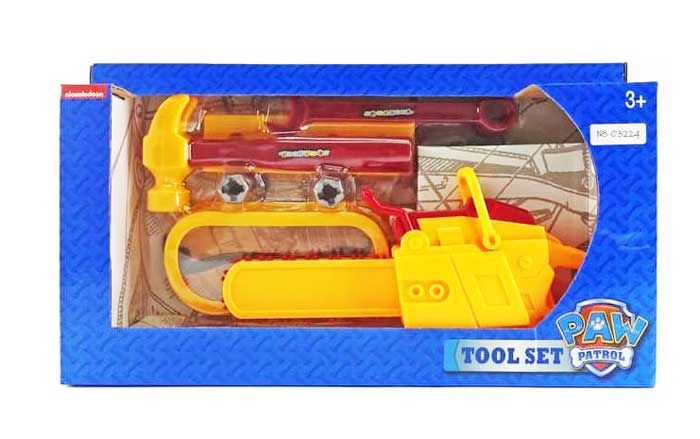toko mainan online TOOL SET PAW PATROL - 03224