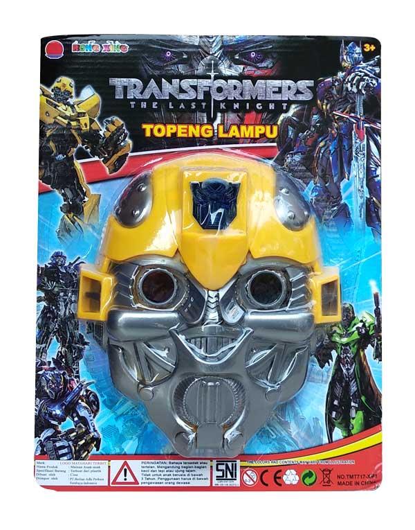 toko mainan online TOPENG LAMPU BUMBLE BEE - XM1