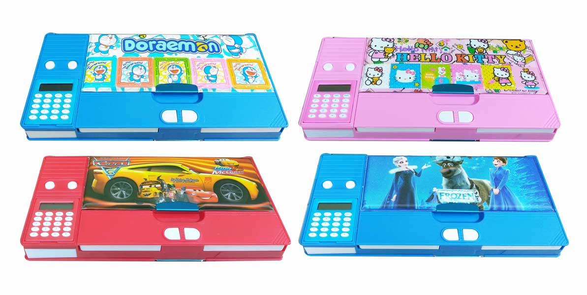 toko mainan online TEMPAT PENSIL + KALKULATOR - XD-9518