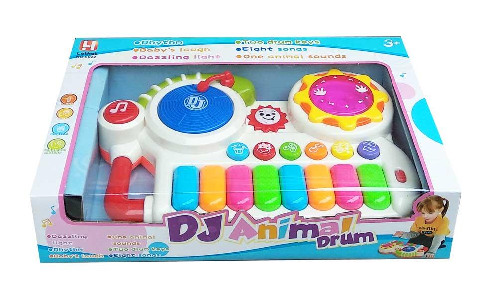 toko mainan online DJ ANIMAL DRUM - 5022
