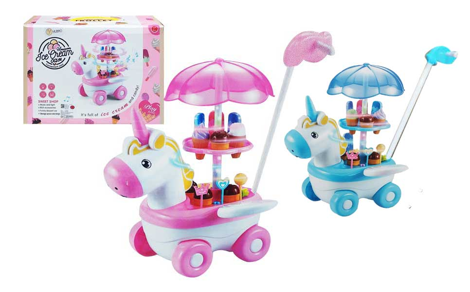 toko mainan online UNICORN ICE CREAM CAR - YH-06F