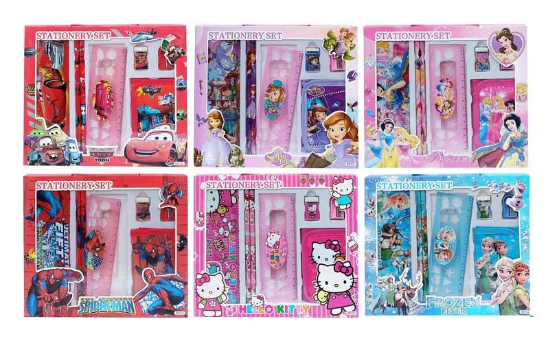 toko mainan online STATIONERY SET (DOMPET) - 8832