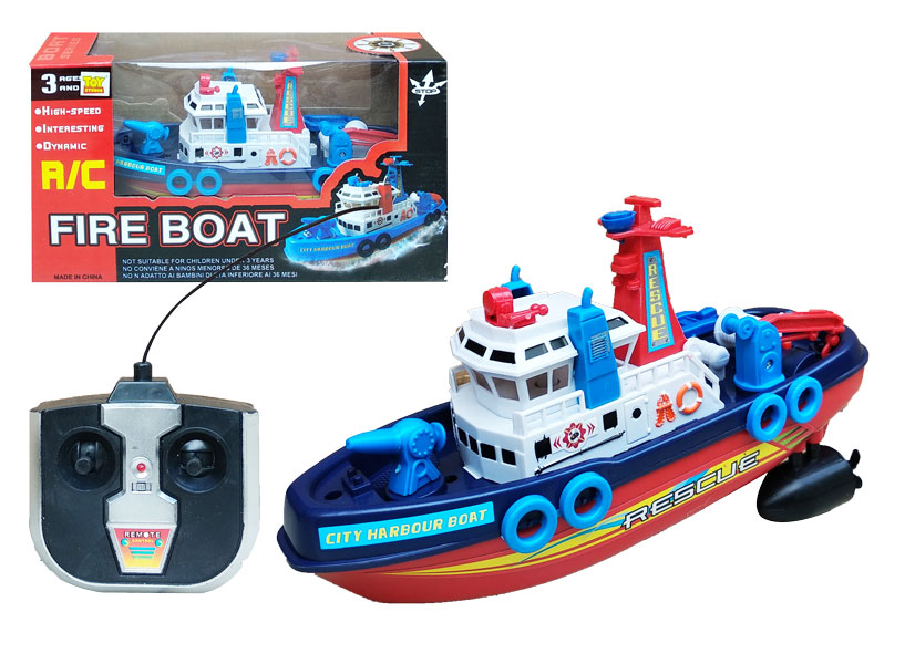 toko mainan online RC FIRE BOAT - 0761