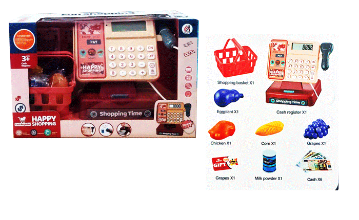 toko mainan online CASH REGISTER - 8888A