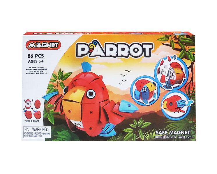 toko mainan online MAGNET PARROT - 68688