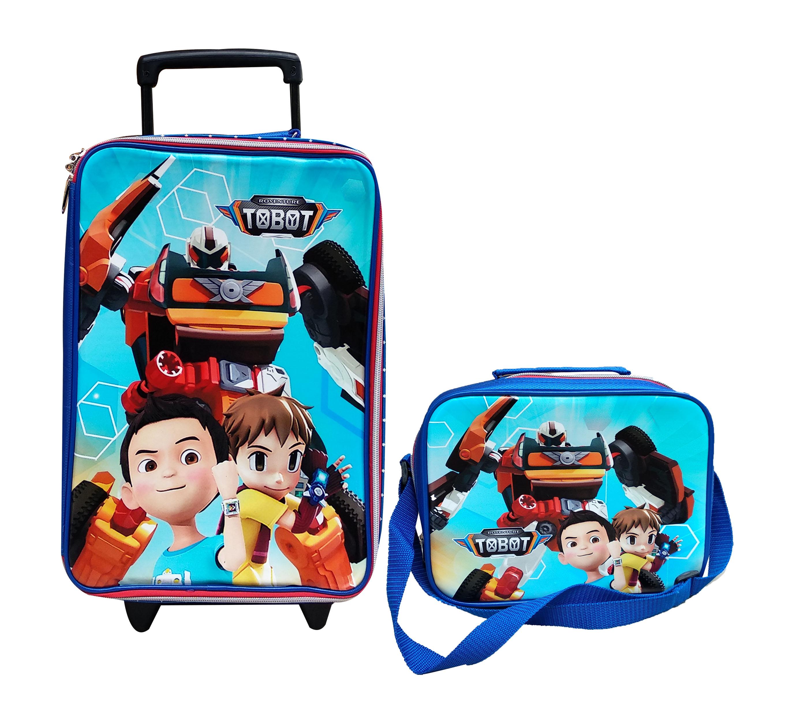 toko mainan online KOPER MB + LUNCH BAG TOBOT - KLB-TO