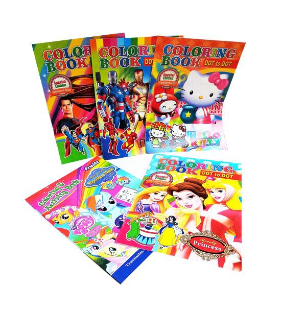 toko mainan online BUKU MEWARNAI - DTD0513
