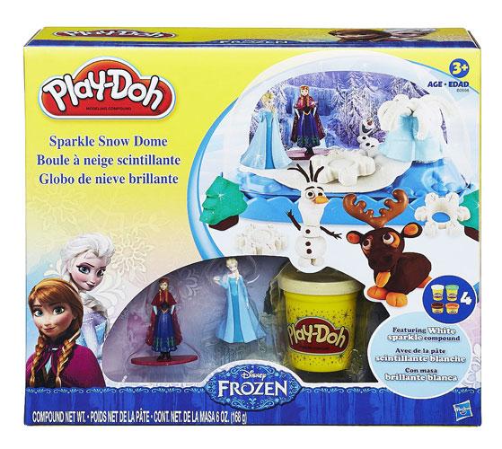 toko mainan online PLAY-DOH SPARKLE SNOW  B0656