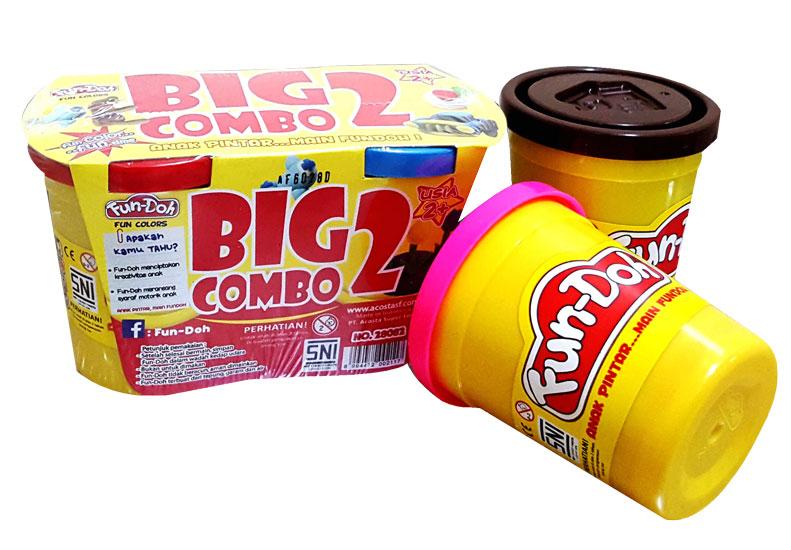 toko mainan online FUNDOH BIG COMBO ISI 2 - 28082