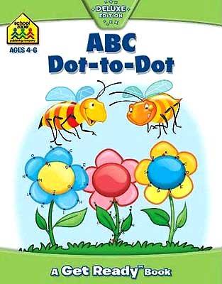 toko mainan online School Zone ABC Dot-to-Dot