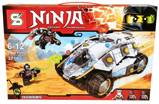 toko mainan online BLOCK NINJA THUNDER SWORDSMAN 371PC - SY590