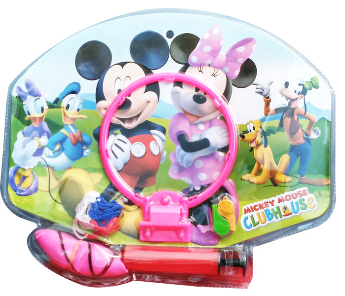 toko mainan online MICKEY MOUSE BASKETBALL - 02067
