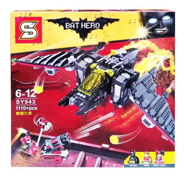 toko mainan online BLOCKS BAT HERO 1110PCS - SY943